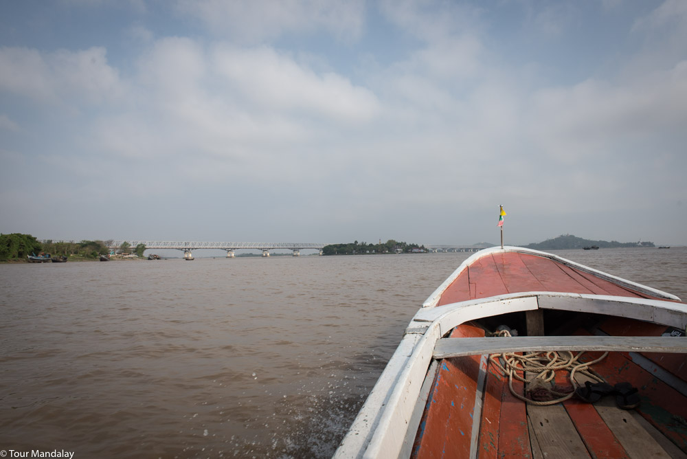 The start of the 3.5 hour boat journey from Mawlamyine to Hpa-an