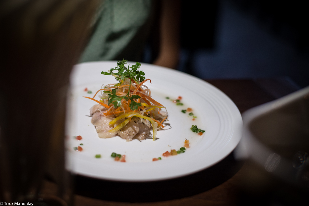 Hummingbird's ceviche of red snapper