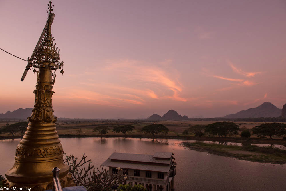 Kyauk Kalap, one of them most beautiful pagodas in Myanmar