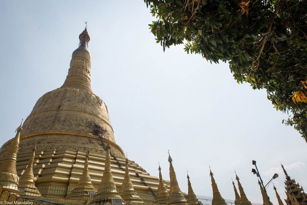Shwesandaw is taller than Shwedagon and it doesn't attract as many tourists
