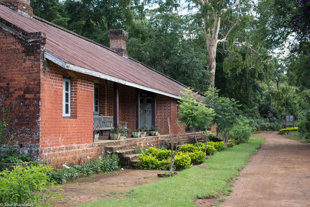 A rare example of a small colonial hospital in Loimwe