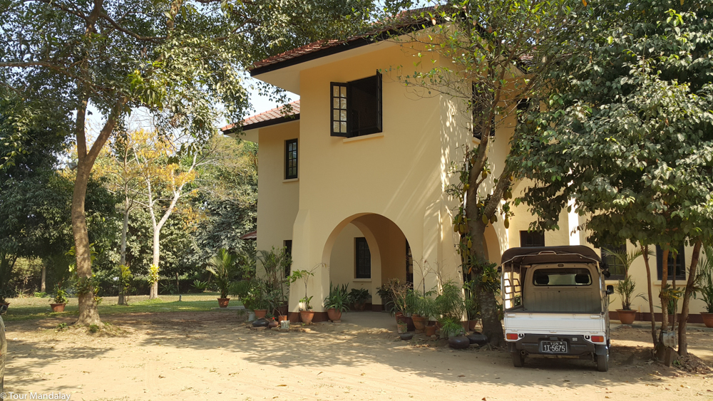 The entrance to U Thant's house