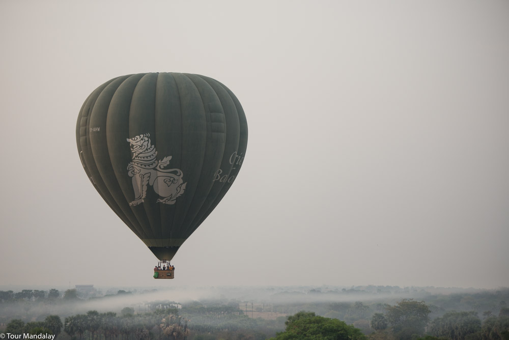 Oriental Ballooning in New Bagan