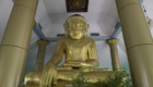The largest lacquerware Buddha in Myanmar
