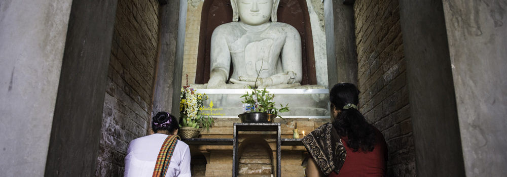 An image of Lord Buddha at Ta Moke Shwe Gu Gyi
